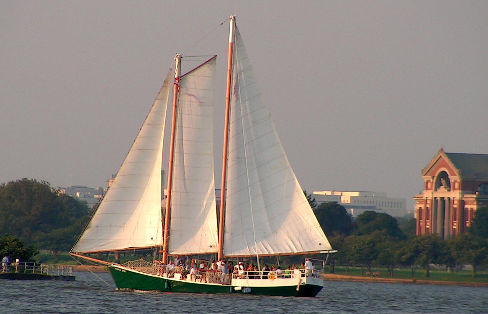 Dc Sail Schooner Sailing